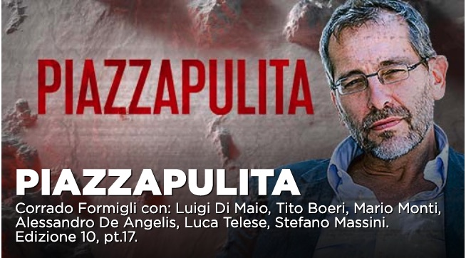 Matteo Renzi tra gli ospiti a Piazzapulita del 23 gennaio