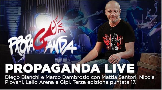 Valerio Mastandrea tra gli ospiti di Propaganda Live del 24 gennaio