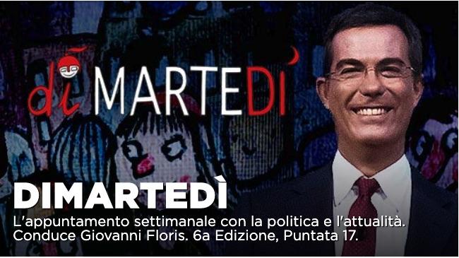 Il futuro del Governo Conte al centro della puntata diMartedi del 14 gennaio su La7