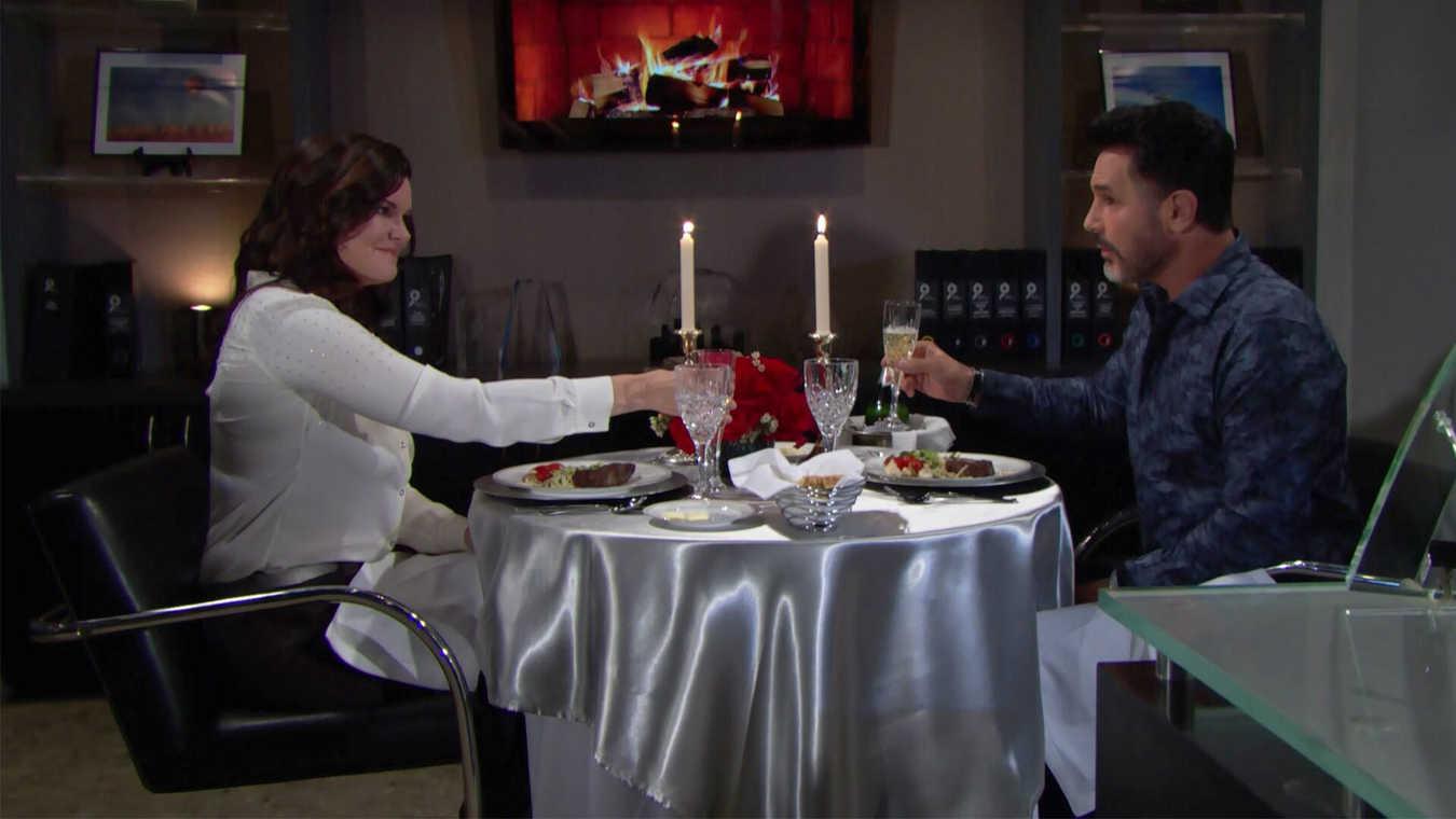 Cena romantica per Bill e Katie