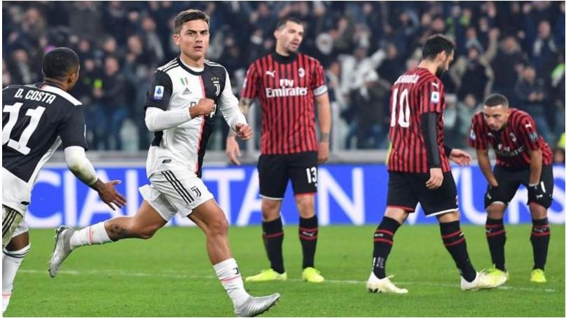 Milan-Juventus Rai Uno
