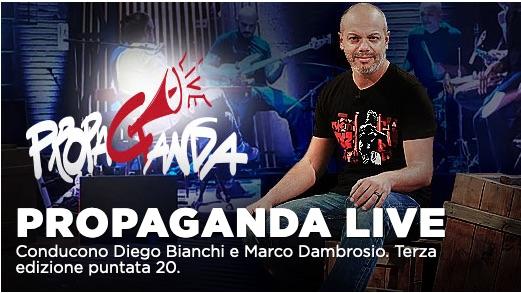 Jasmine Trinca e Diodato ospiti di Propaganda Live su La7
