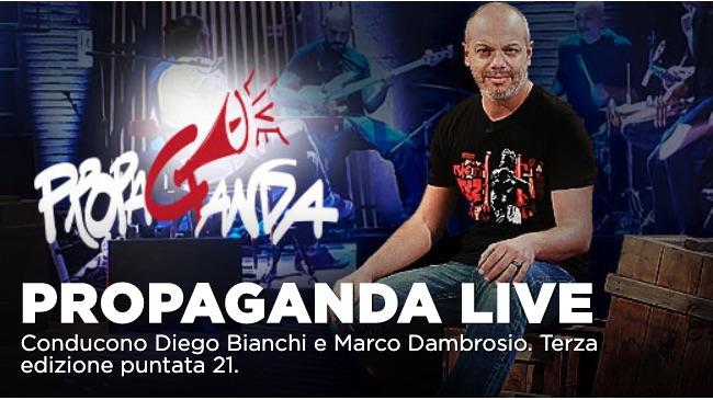 Andrea Vianello tra gli ospiti di Propaganda Live del 21 febbraio su La7