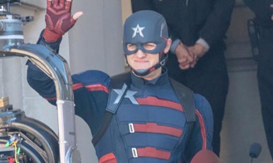 The Falcon and The Winter Soldier: il nuovo Captain America in azione sul set