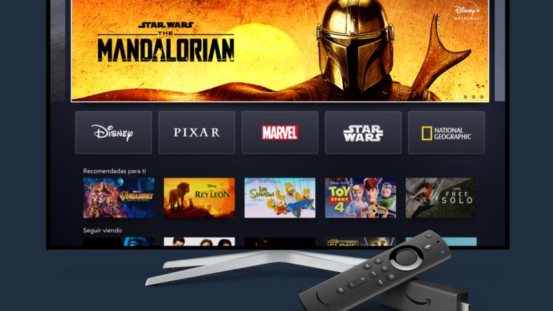 Disney +, confermato l'arrivo anche su Amazon Fire Stick