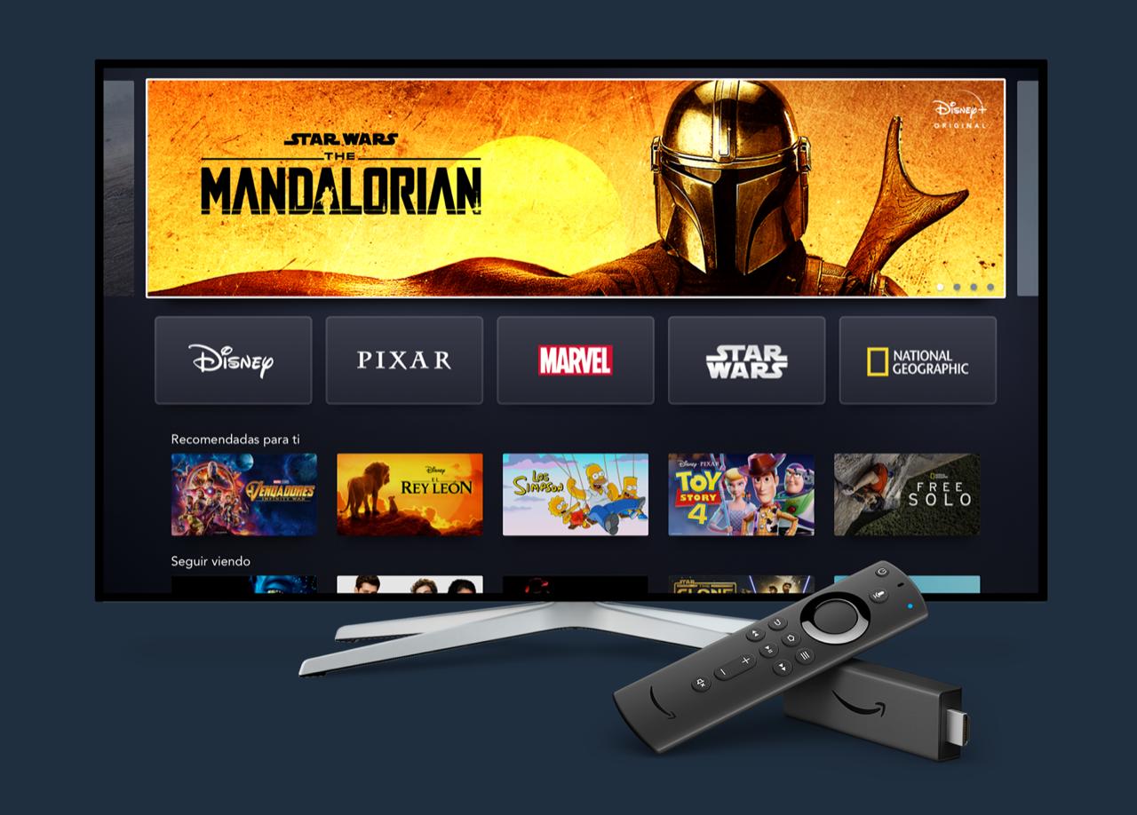 Disney + su Amazon Fire stick