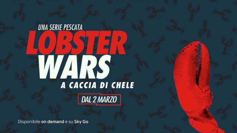 Guida Tv Sky 18 marzo: Family food fight (replica), Punk, Lobster Wars: a caccia di chele