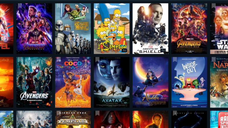 Disney+: il catalogo in anteprima su JustWatch