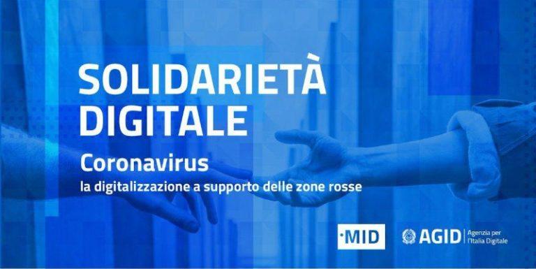 Emergenza coronavirus: ecco i servizi digitali offerte gratuitamente a chi risiede nella Zona rossa