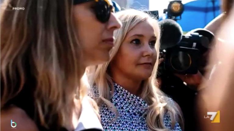 Non é l'Arena, intervista esclusiva a Virginia Roberts Giuffre su La7