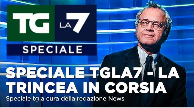 Emergenza Coronavirus, lo Speciale Tg La7 con Mentana e Corrado Formigli