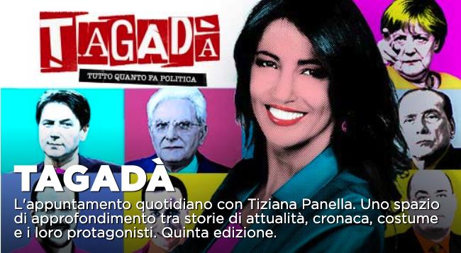 Chiara Appendino ospite a Tagadà su La7