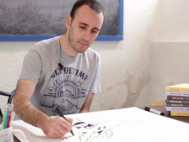 Zerocalcare, Valerio Mastandrea ospiti a Propaganda Live 27 marzo