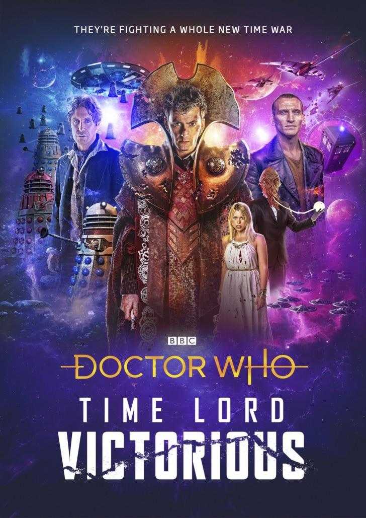 Doctor Who: annunciato il maxi evento Time Lord Victorious