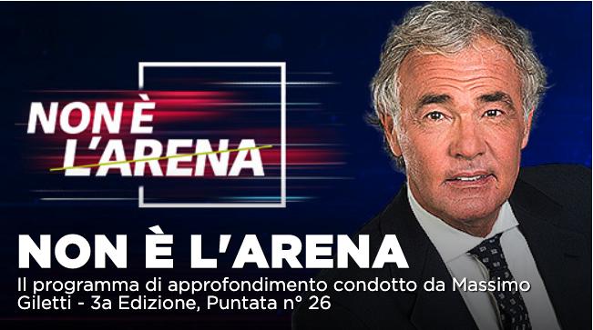 Luigi Di Maio intervista a Non é l'Arena con Giletti su La7