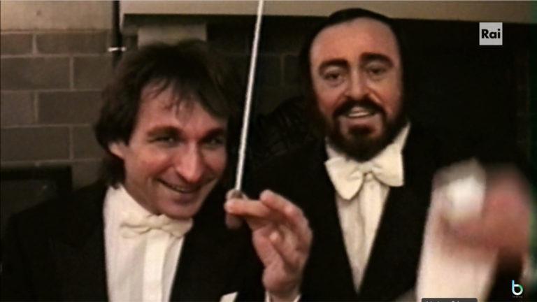 Ascolti tv 24 aprile: il docu-film Pavarotti vince la prima serata