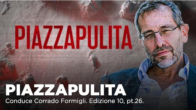 Romano Prodi tra gli ospiti di Piazzapulita su La7