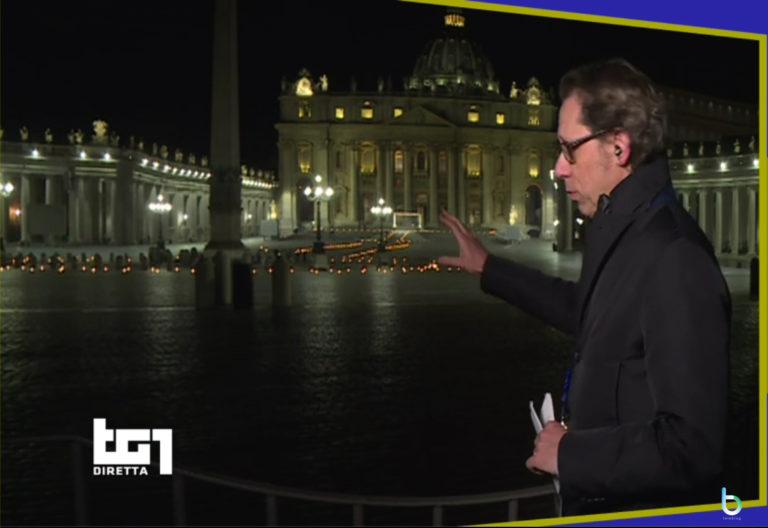 Ascolti tv 10 aprile: ottimi ascolti per Via Crucis, bene Quasi Amici e Propaganda Live
