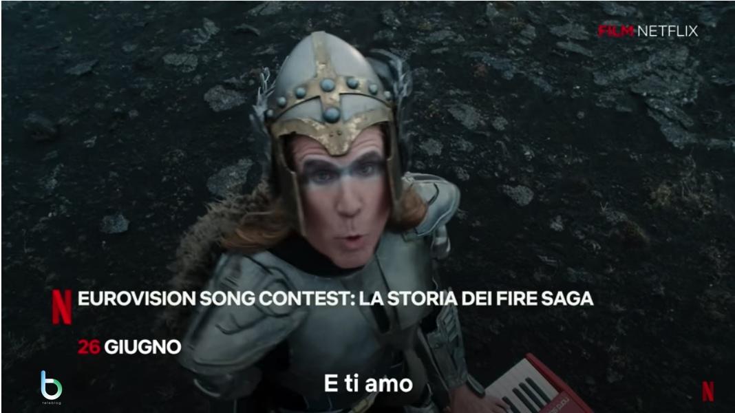 Eurovision song contest - The fire saga