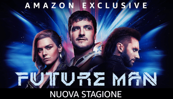 Dispatches From Elsewhere, Future Man tra le novità di giugno Amazon Prime Video