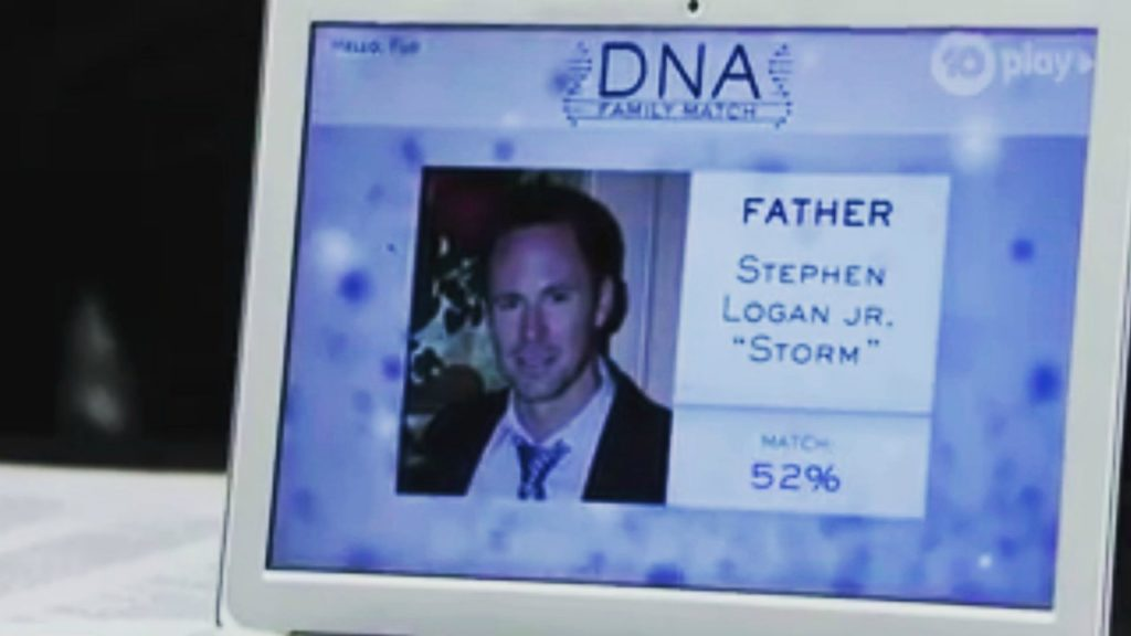 Il vero padre di Flo é Storm Logan