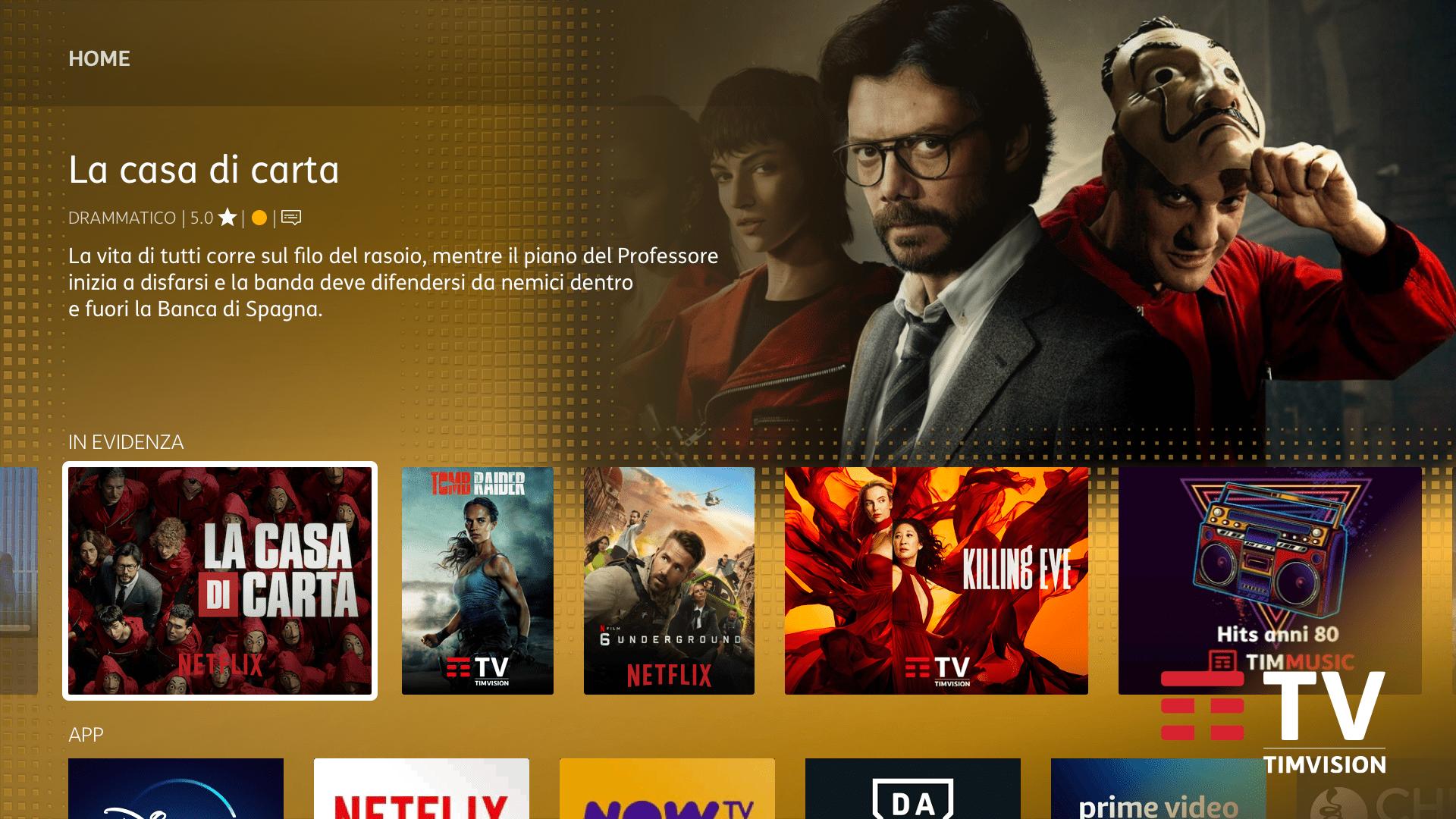 Mondo Netflix con Timvision Plus