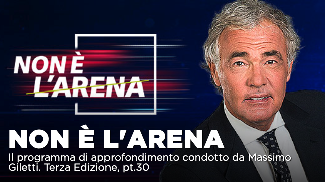L'enigma Bonafede – Di Matteo, intervista ad Arrigo Cipriani a Non é l'Arena 10 maggio