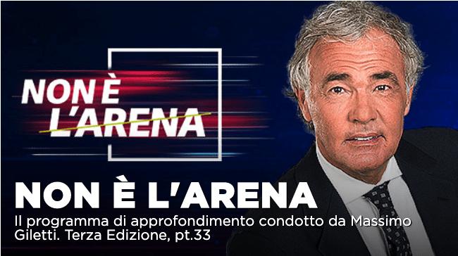 Intervista Luca Palamara, scontro tra Regioni e caso scarcerazioni a Non é l'Arena su La7