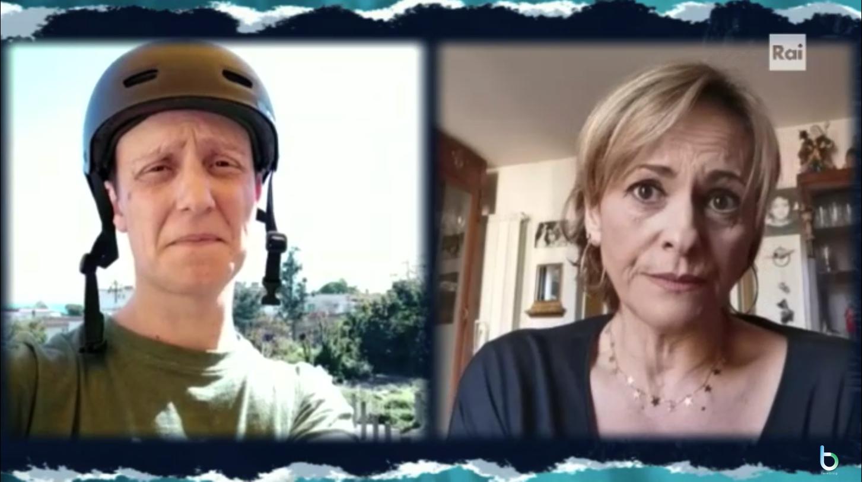 Silvia e Diego Un pò sto a casa episodio