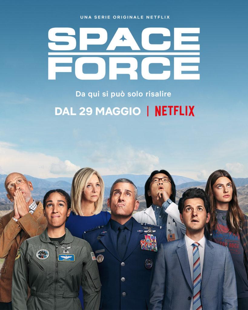 Space Force, arriva finalmente la nuova comedy con Steve Carell su Netflix.