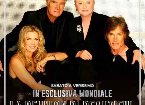 30 anni di Beautiful, reunion cast a Verissimo il 6 giugno