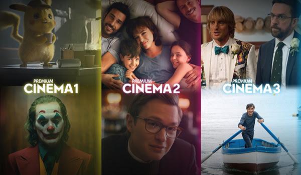 Premium Cinema, dal 1° luglio i canali diventano solo tre