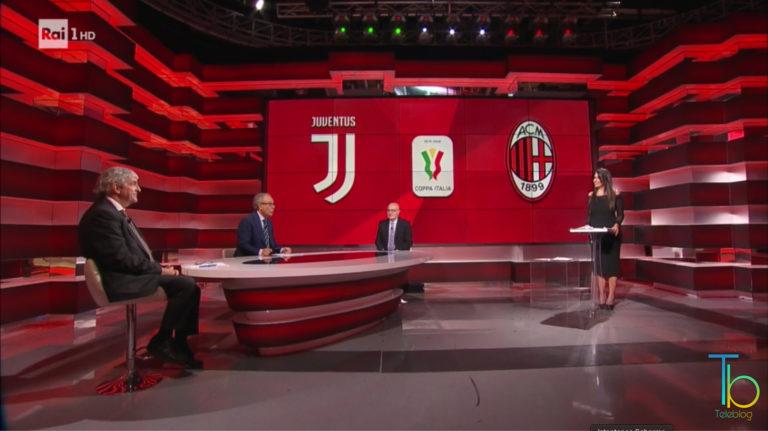 Ascolti tv 12 giugno: boom per Juventus-Milan, bene Propaganda Live