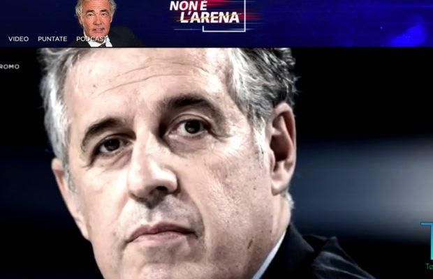 Nino Di Matteo a Non é l'arena La7