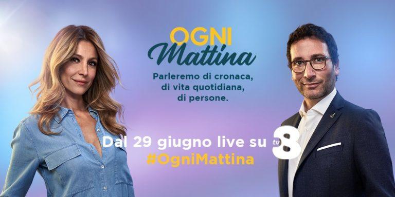 Ogni mattina, Alessio Viola e Adriana Volpe sbarcano nel mattino di Tv8
