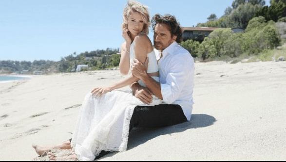 RIdge e Caroline matrimonio in spiaggia