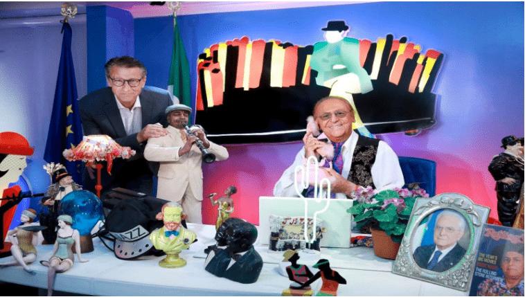 """""""Striminzitic show"""", il ritorno di Renzo Arbore su Rai due"""