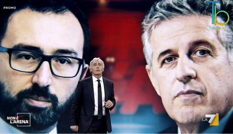 """Speciale """"Non è l'Arena"""", il punto su """"Scarcerazioni dei boss"""" il 21 giugno La7"""