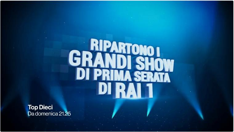 """""""Top Dieci"""", Carlo Conti nel nuovo show sulle classifiche su Rai Uno"""