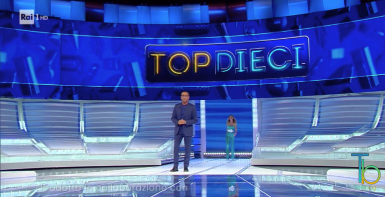 Ascolti tv 26 giugno: ottimi risultati per Top Dieci