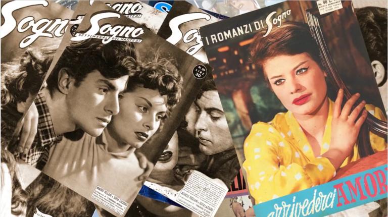 Sogno, la rivista che ripropone gli storici fotoromanzi di Lancio