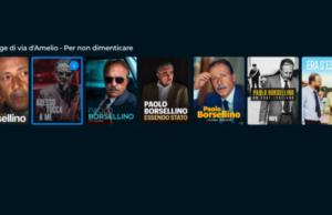 Paolo Borsellino, i contenuti da recuperare su Rai Play