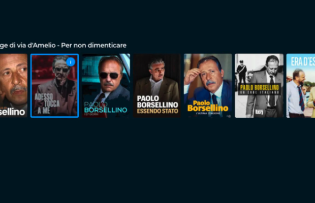 Paolo Borsellino su Rai Play