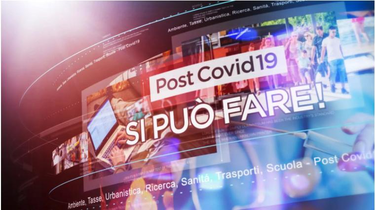 """""""PostCovid19, Si può fare!"""", su RaiNews si racconta il Paese"""