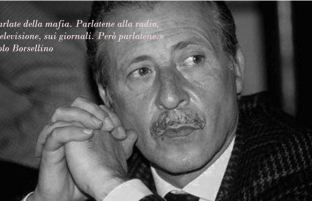 Strage via D'Amelio Borsellino programmi Rai