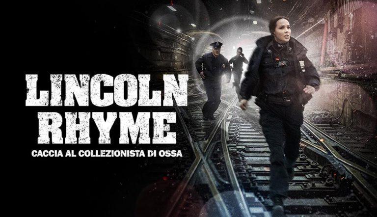 """""""Lincoln Rhyme: caccia al collezionista di ossa"""", su Italia Uno l'unica stagione della serie tratta dai romanzi di Deaver"""