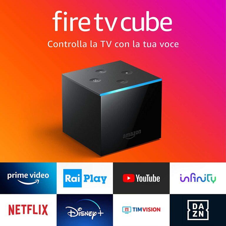 Amazon: in Italia arrivano Fire Stick TV Lite e Cube TV