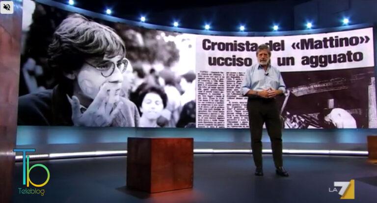 Speciale Atlantide su La7: Andrea Purgatori ricorda il giornalista Giancarlo Siani