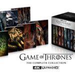 Il trono di spade Game of thrones Steelbox DVD Ultra HD