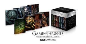 Il trono di spade in arrivo la Deluxe Steelbook Ultra HD in DVD